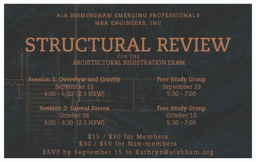 ARE Structural Review poster